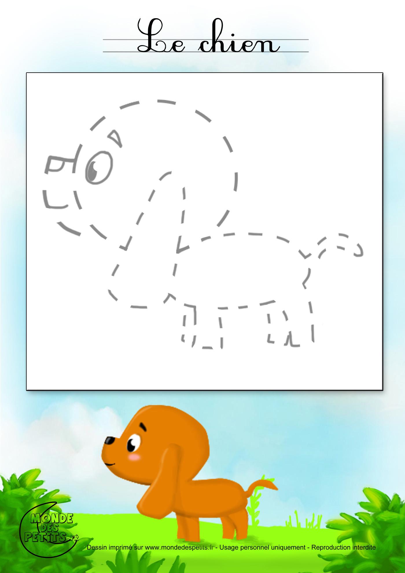 Chien facile a dessiner fq54 jornalagora - Dessiner des animaux ...