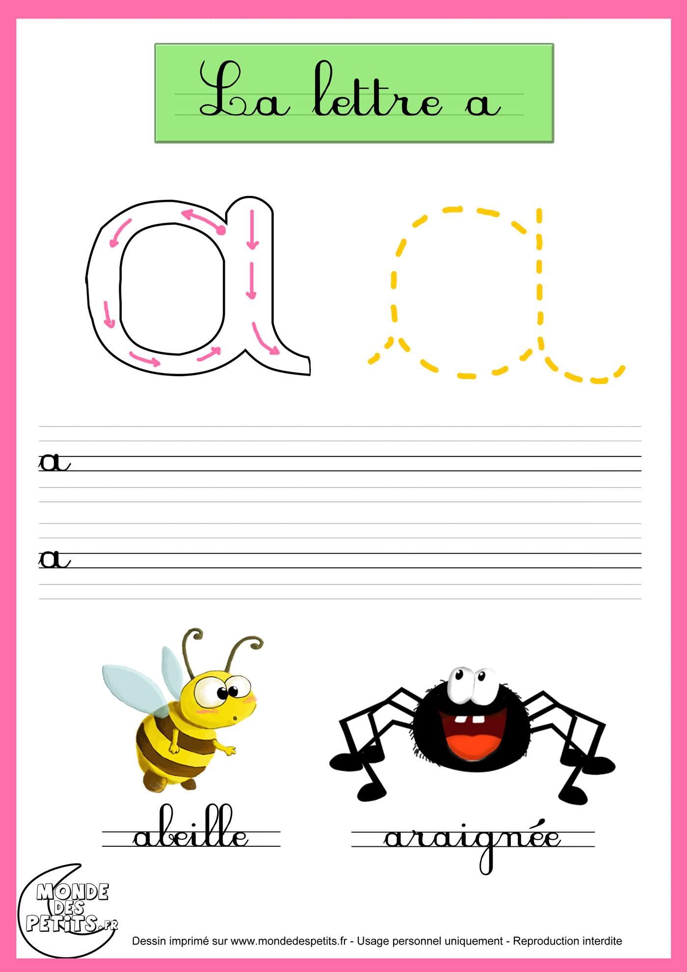 Apprendre crire en cursive du14 jornalagora - Apprendre a broder des lettres ...
