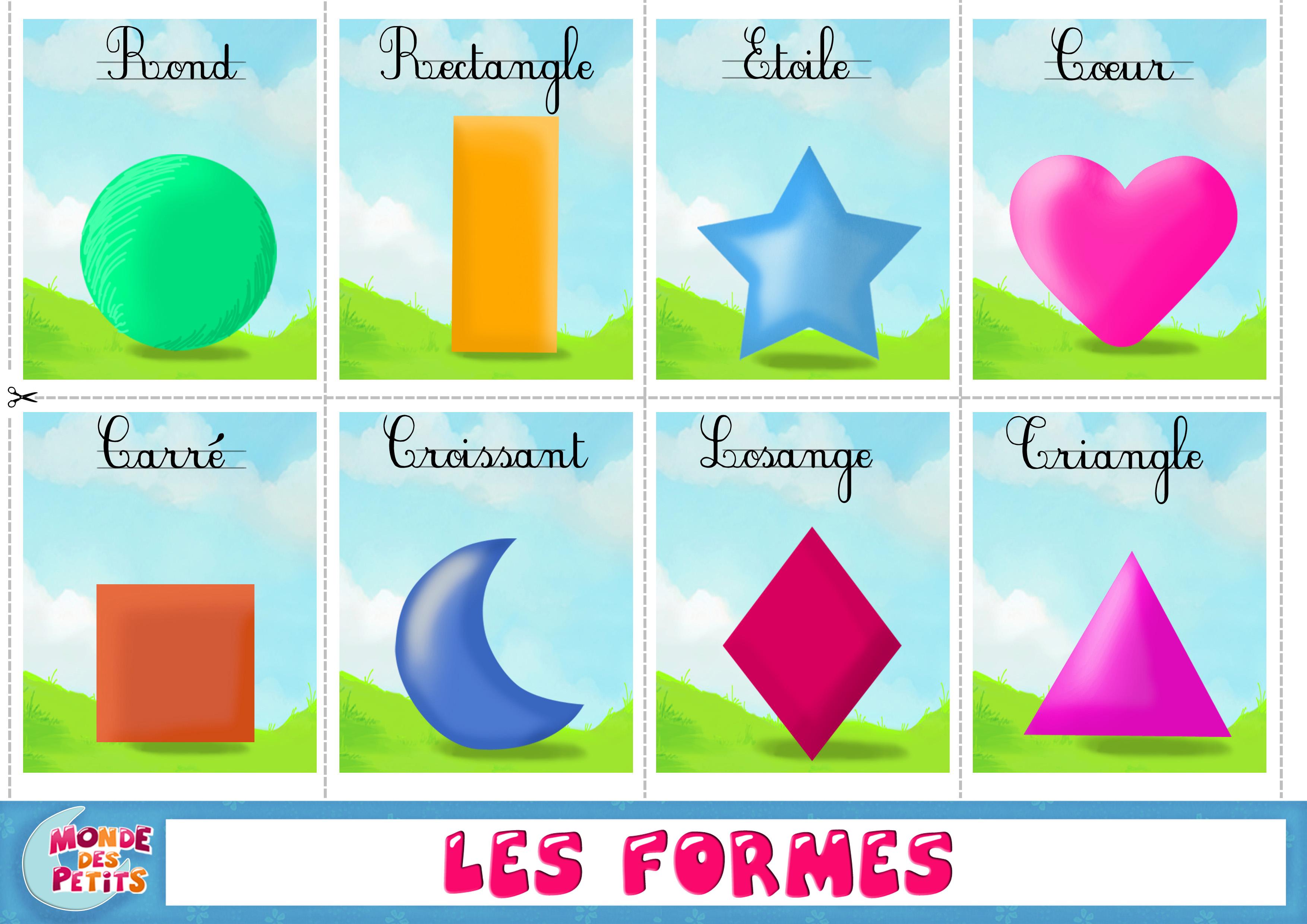 Figury geometryczne - słownictwo 1 - Francuski przy kawie