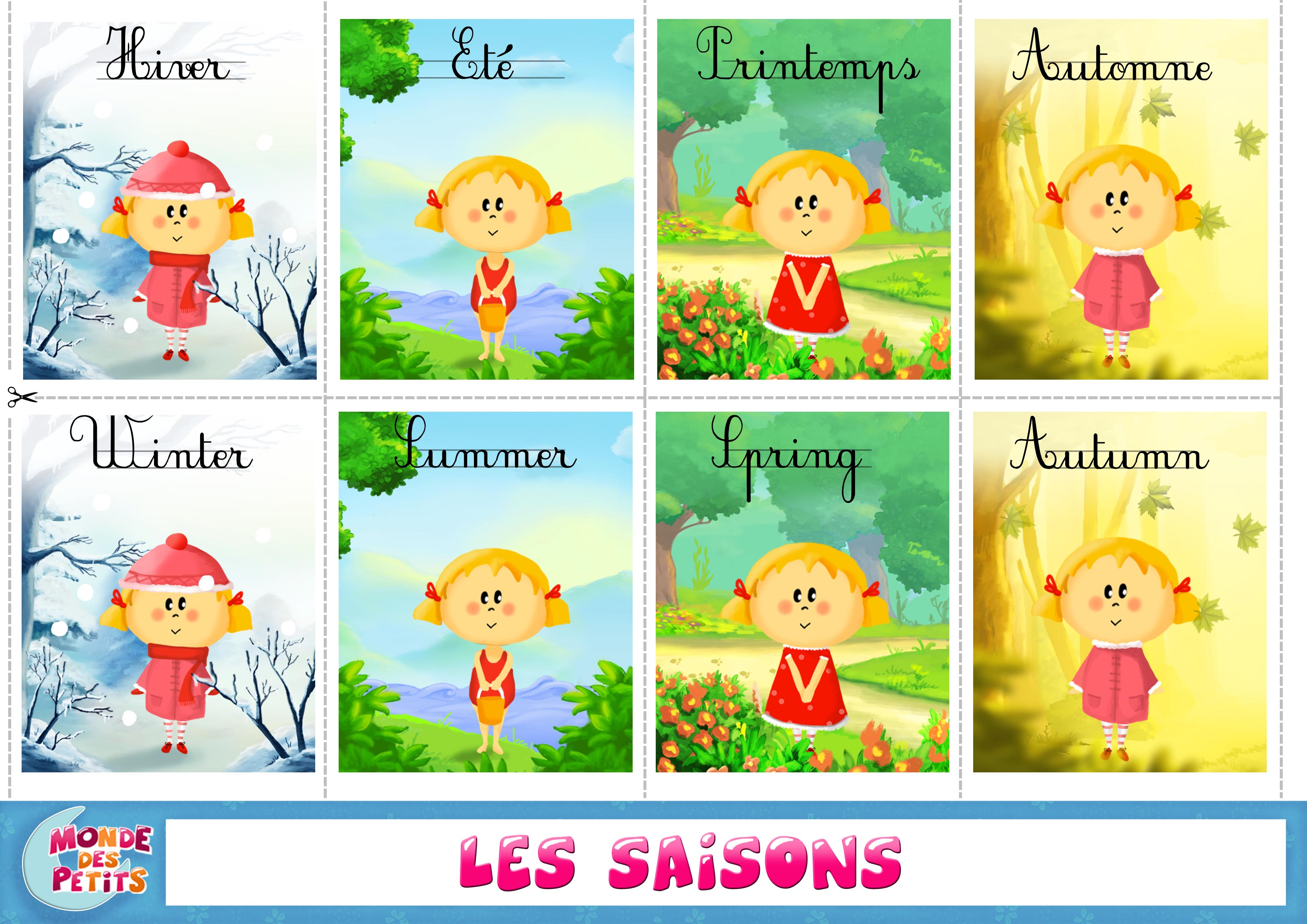 Image result for les saisons