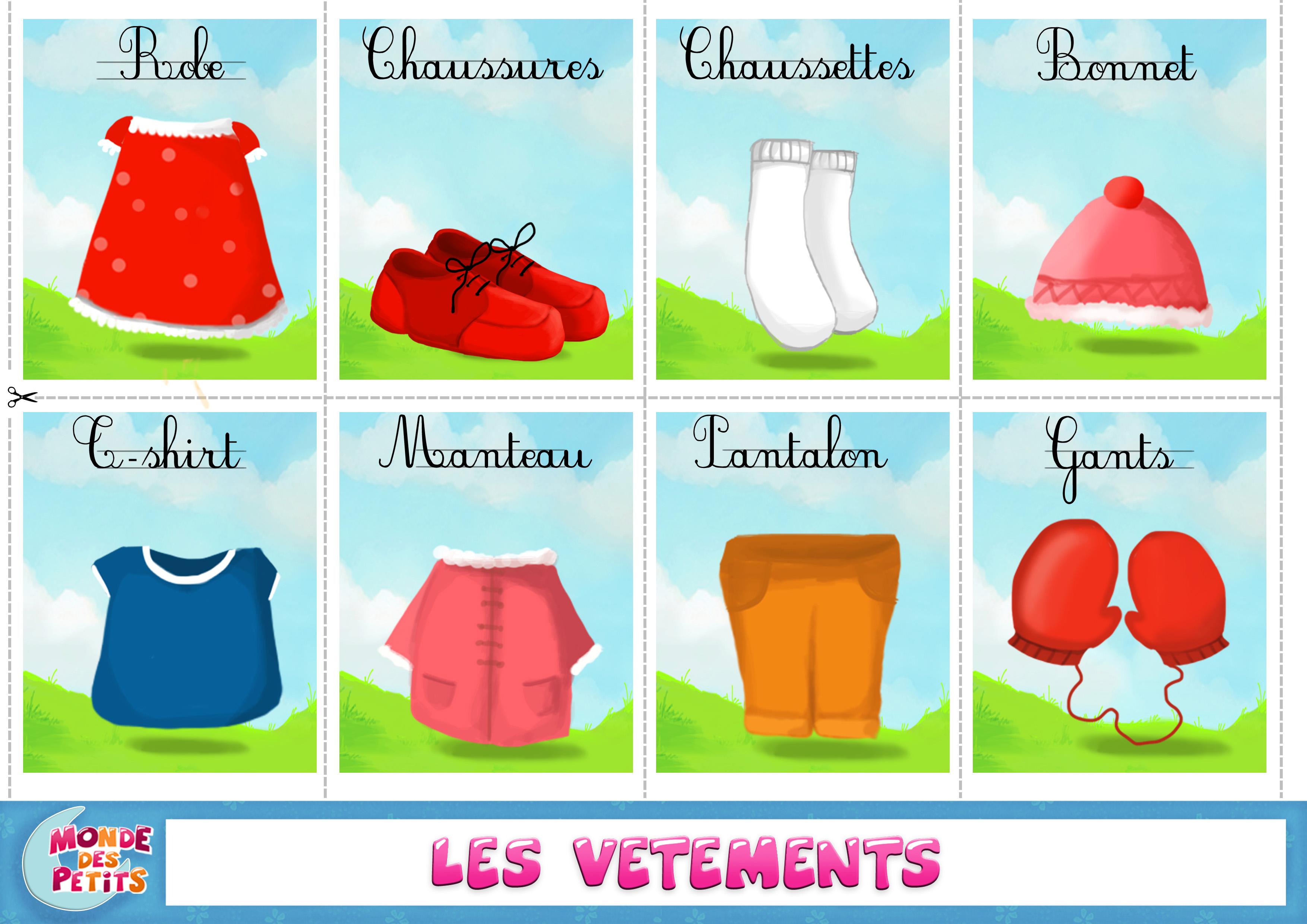 Apprendre vetements 3508 2480 hs french for Anglais vocabulaire maison