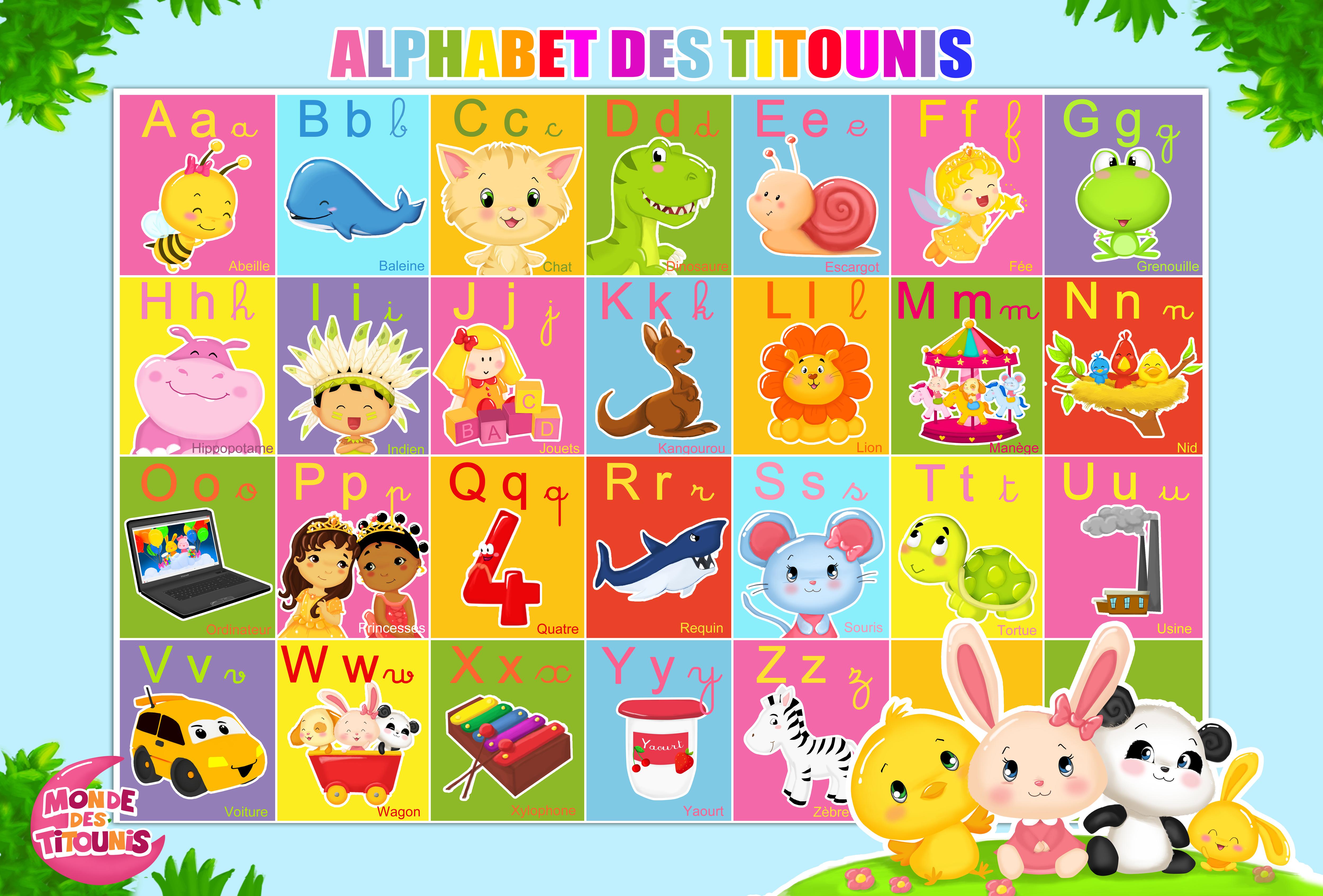 comptine, chansons, alphabet, princesses, petite, lettres, enfant,
