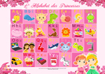 Paroles_L'alphabet des petites princesses du monde - Titounis