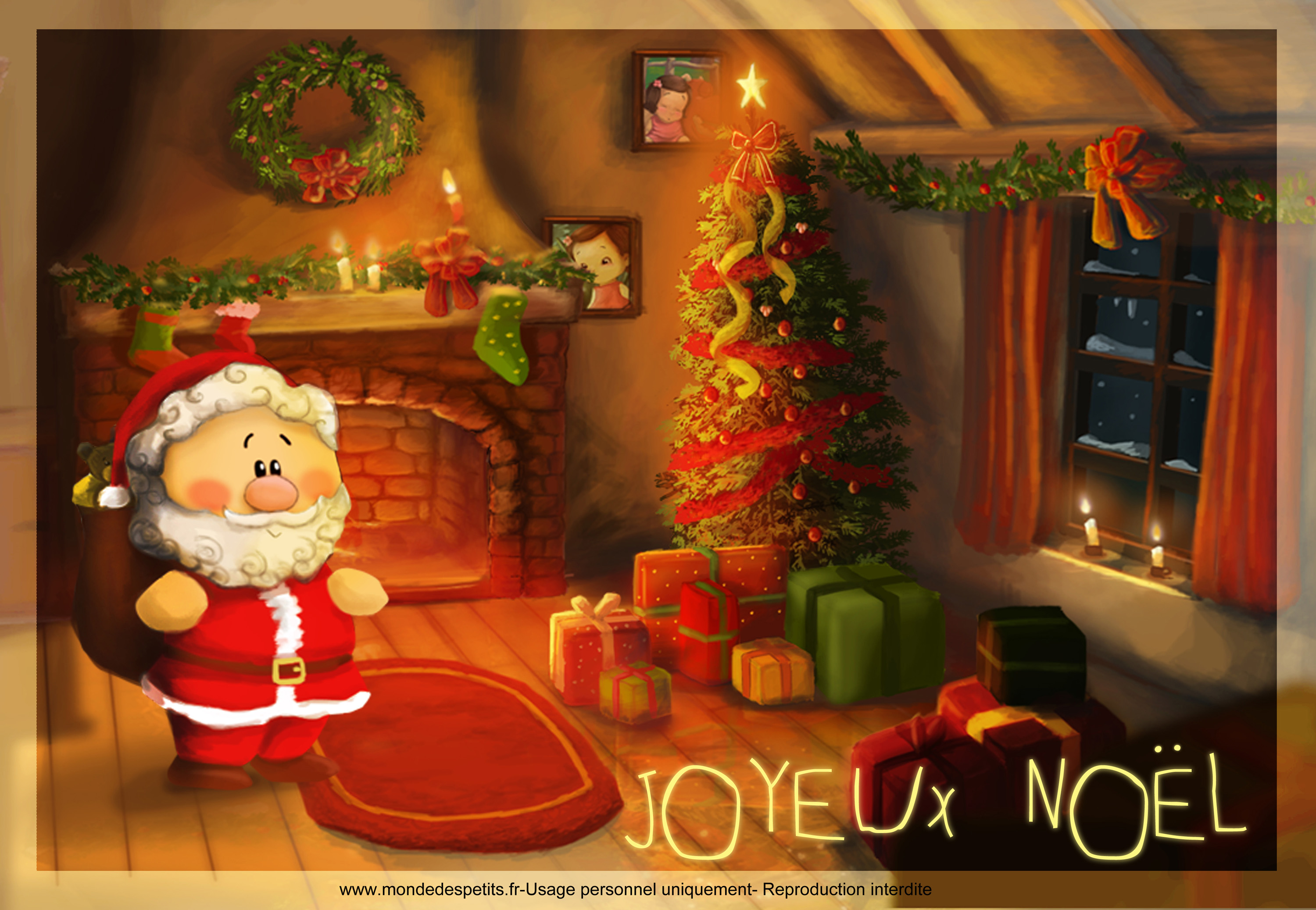 carte virtuelle pere noel gratuite. Black Bedroom Furniture Sets. Home Design Ideas