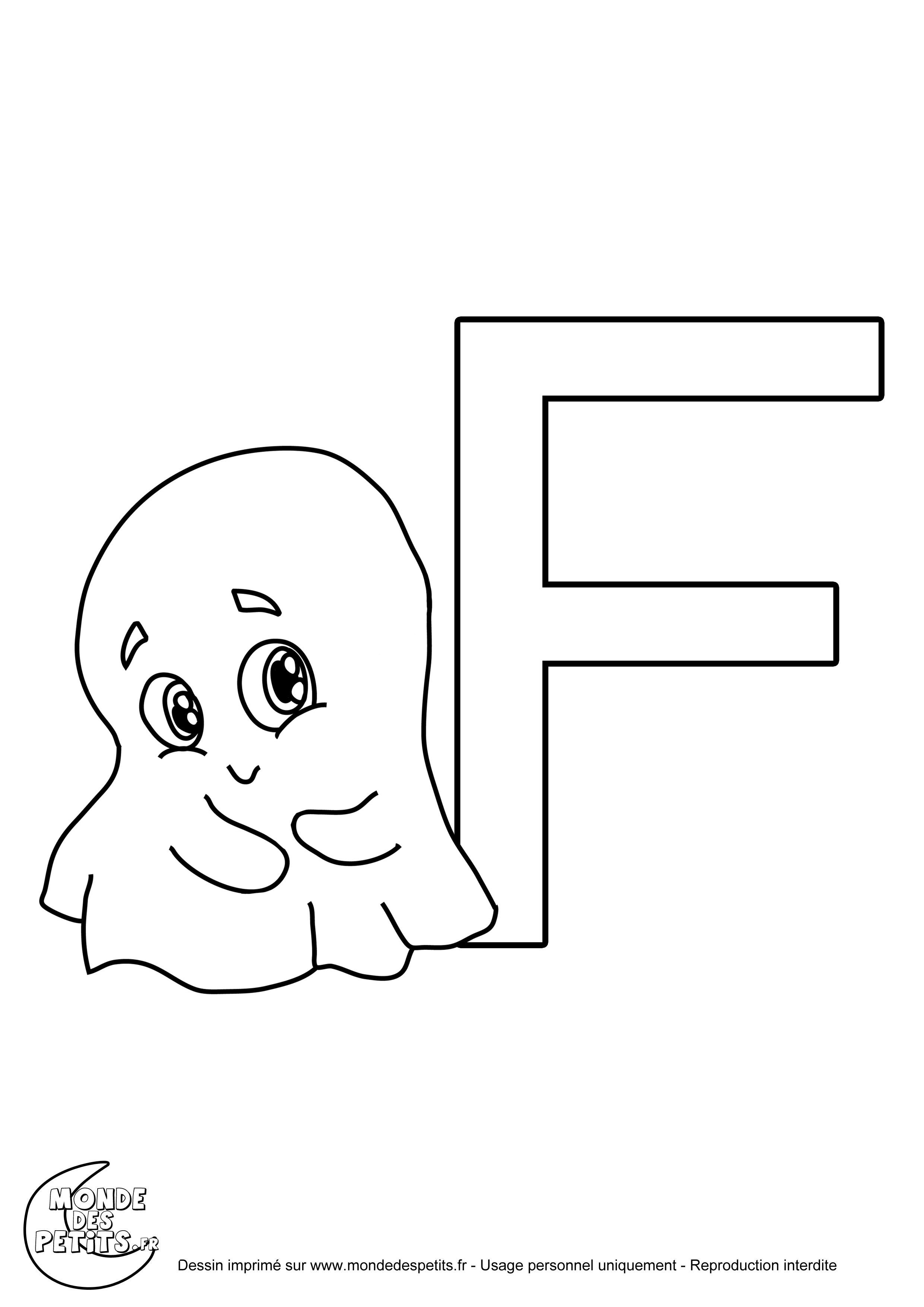 Monde des petits coloriages imprimer - Grande lettre alphabet a imprimer ...