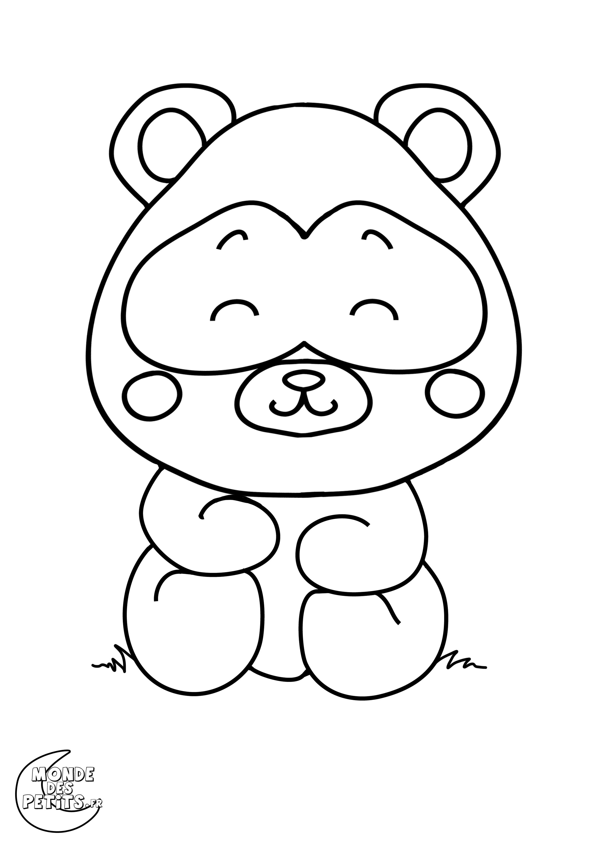 Monde des petits coloriages imprimer - Panda coloriage ...