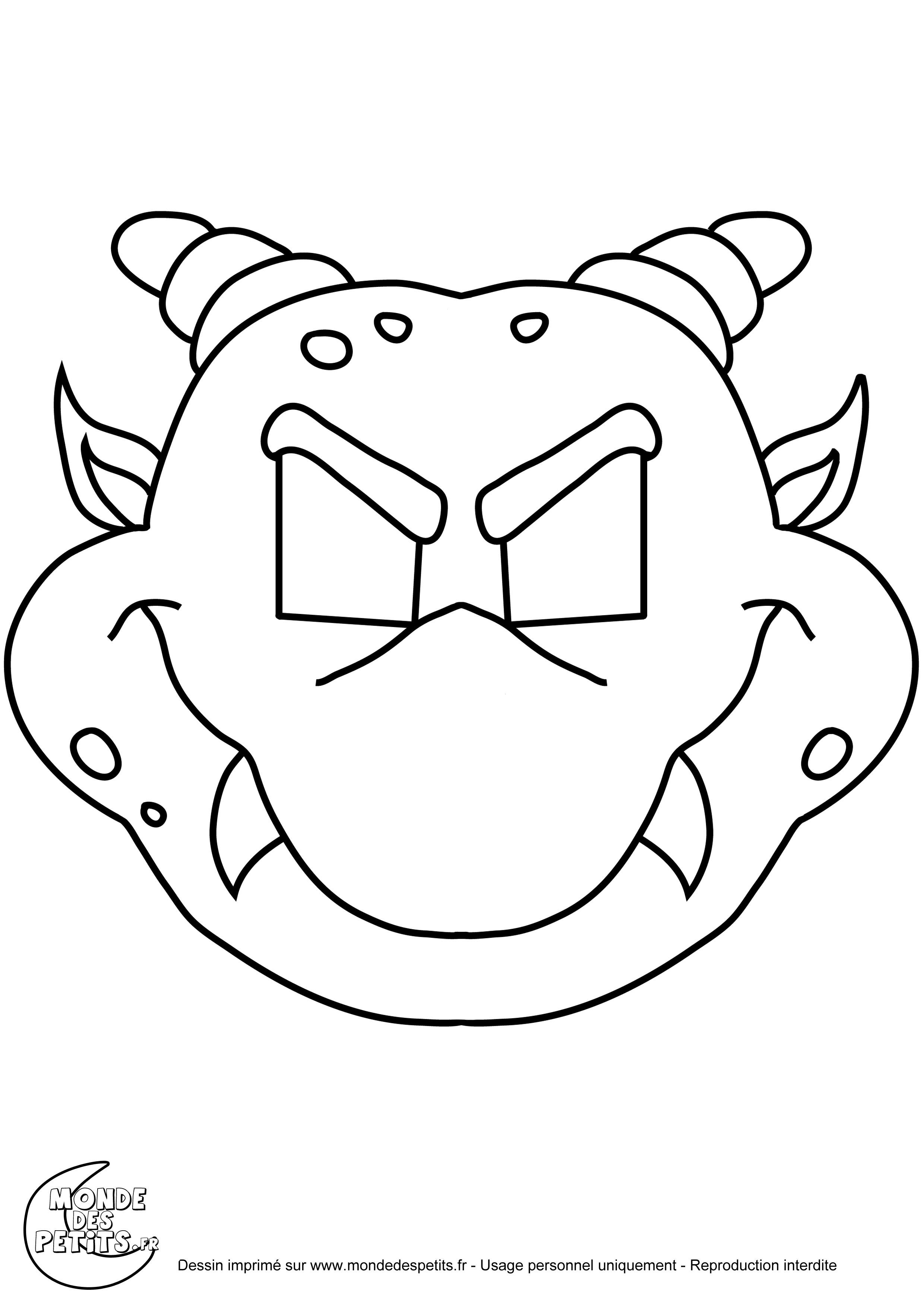 Coloriage de monstres  imprimer pour les enfants