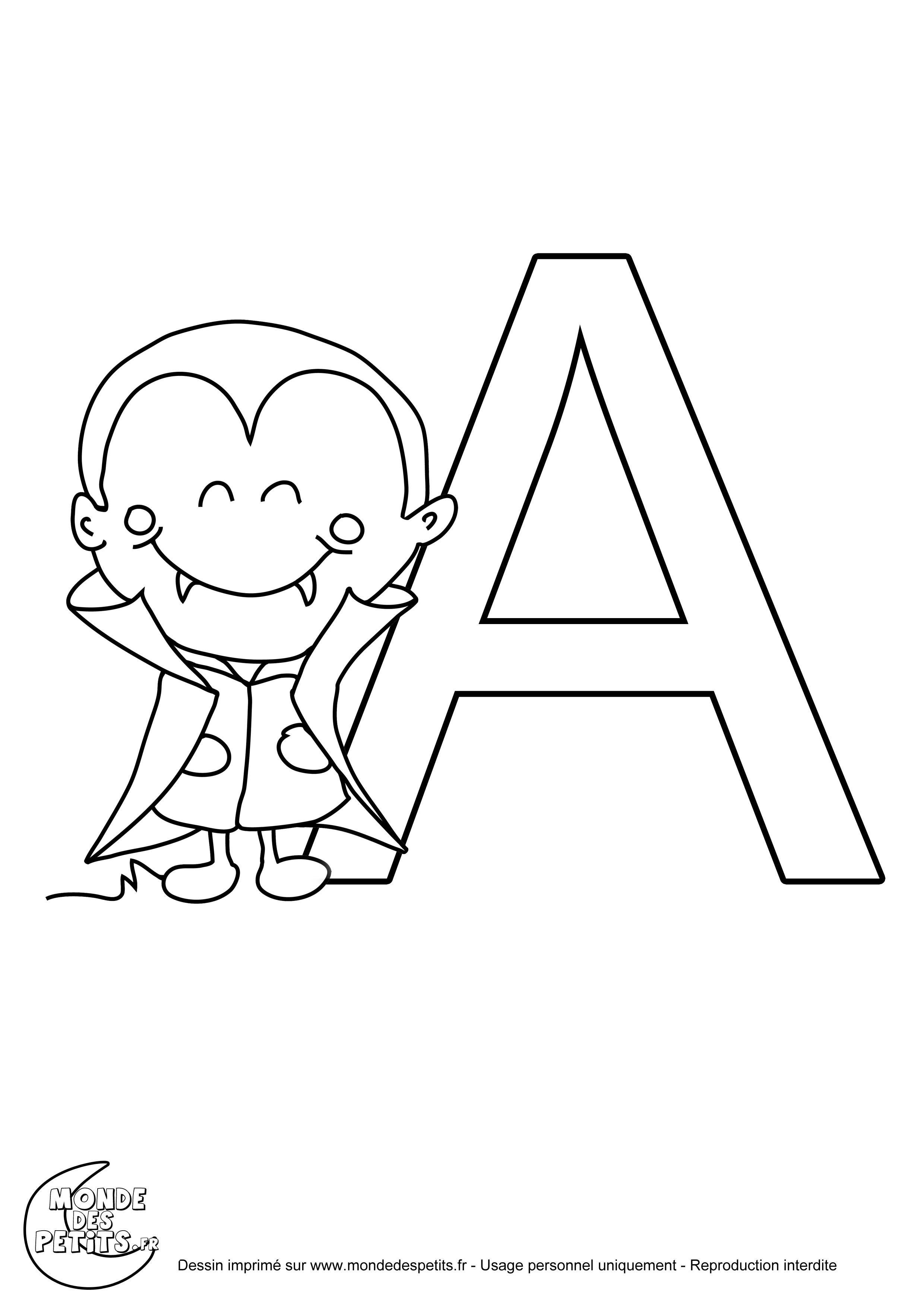 Coloriage Alphabet Titounis.Monde Des Petits Coloriages A Imprimer