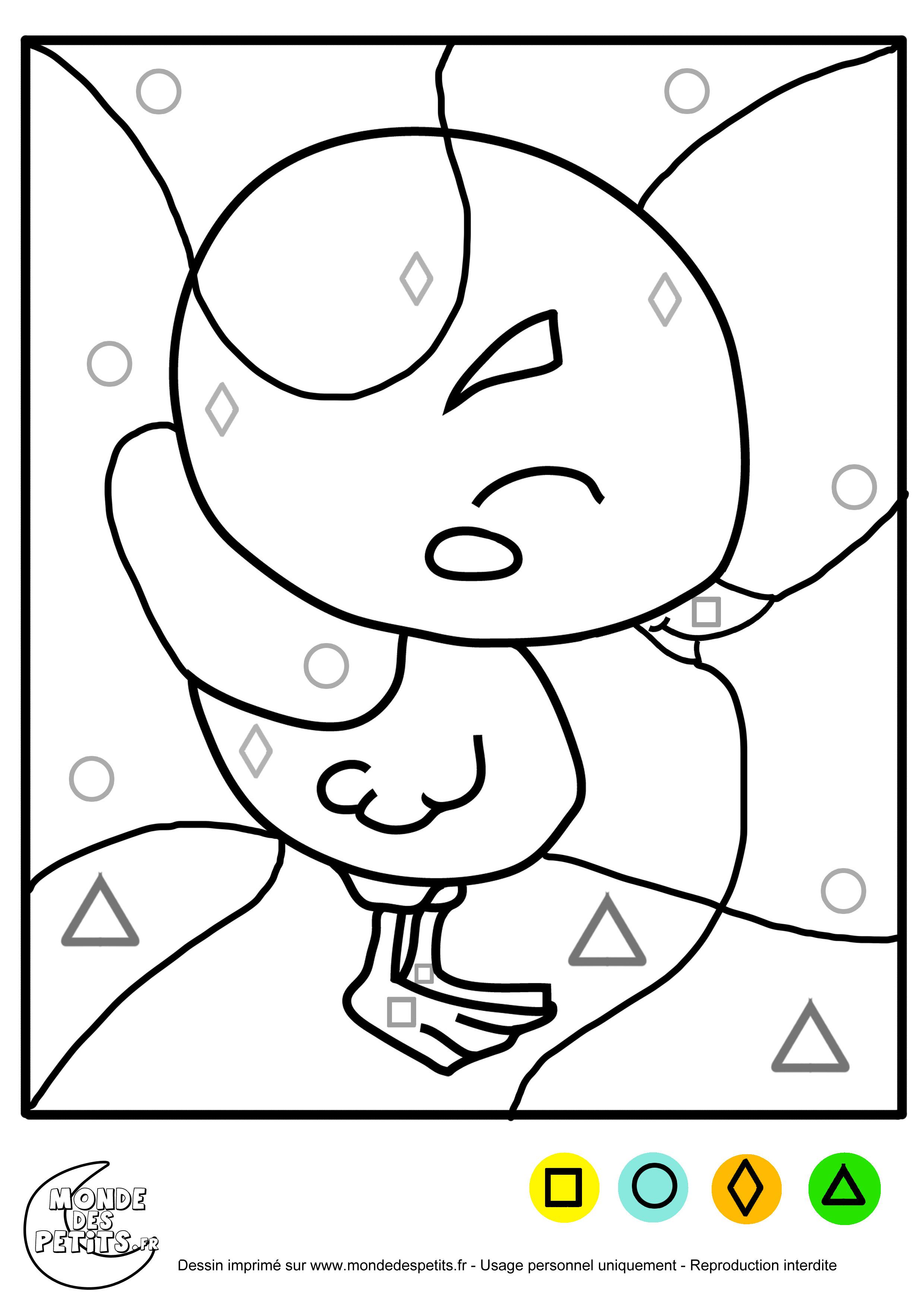 Coloriage Magique Petite Section à Imprimer Wideal