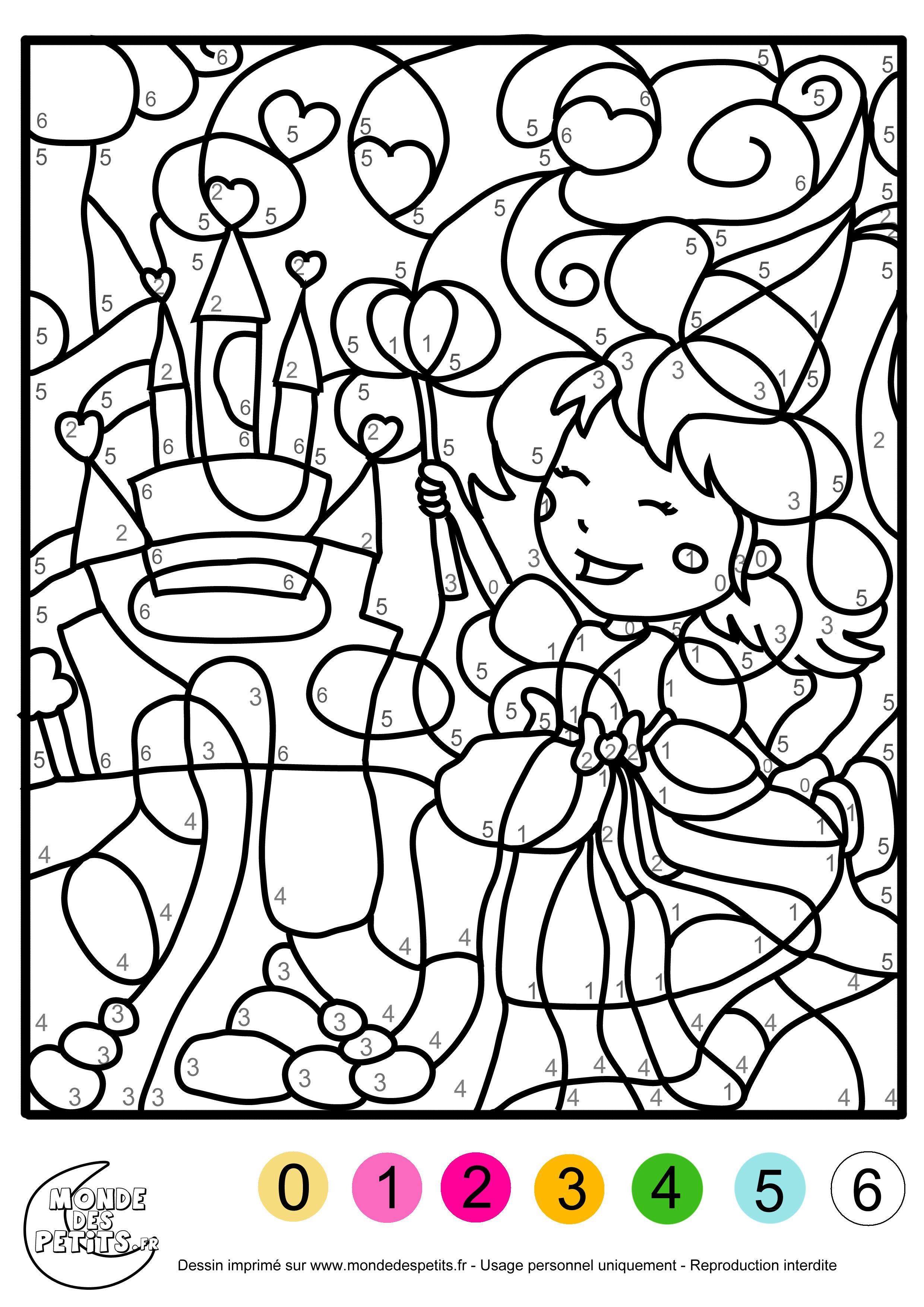 Monde Des Petits Coloriages A Imprimer