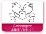 Coloriages: Saint Valentin
