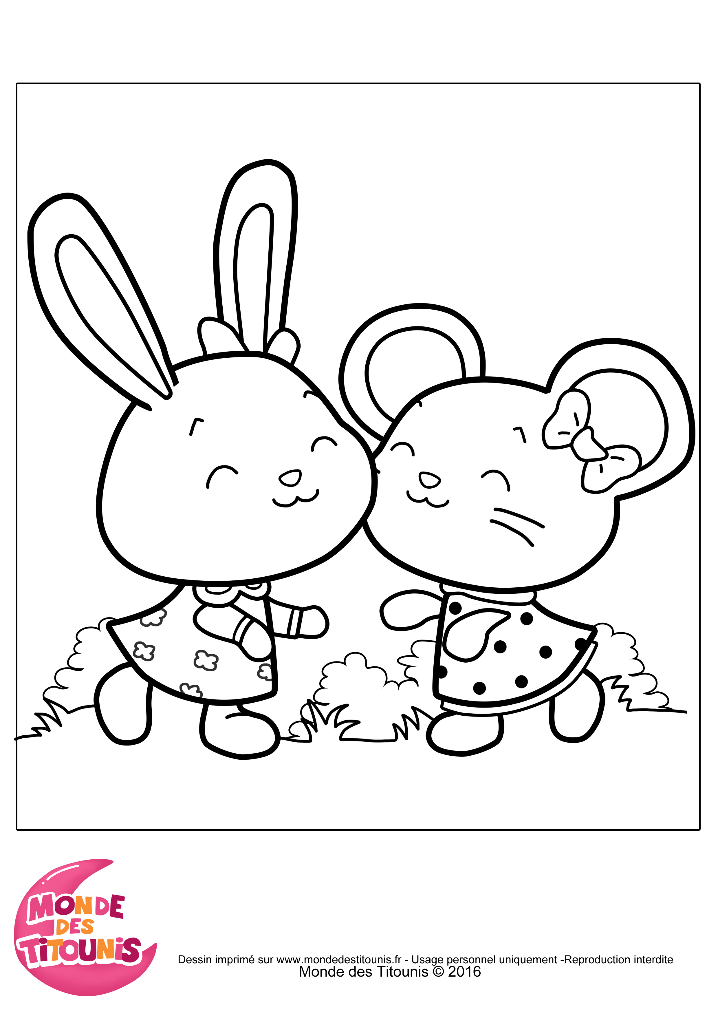 coloriage animaux petite section