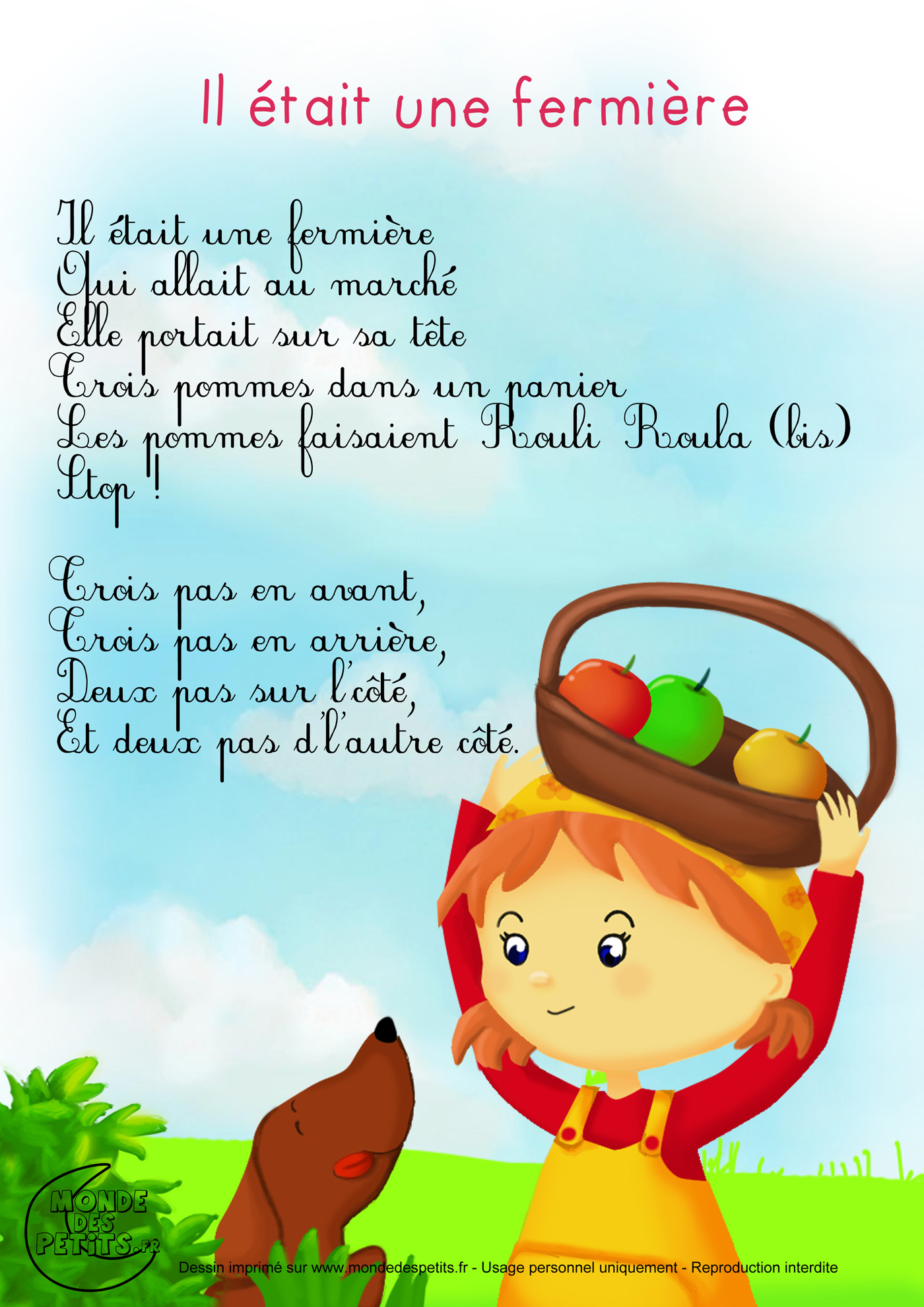 paroles pomme c