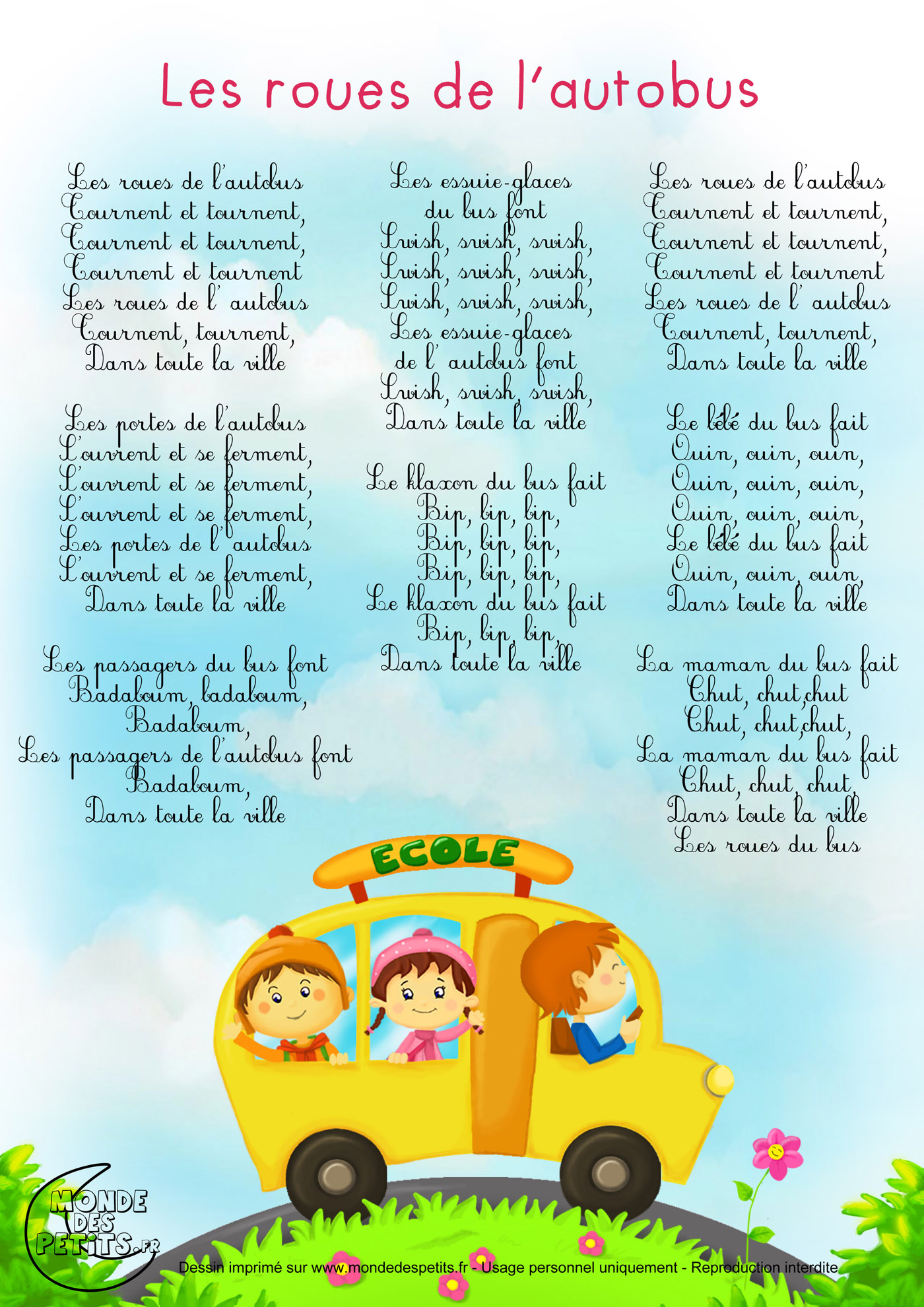 Comptine paroles chats chansons pour enfants pinterest for Jardinier traduction anglais