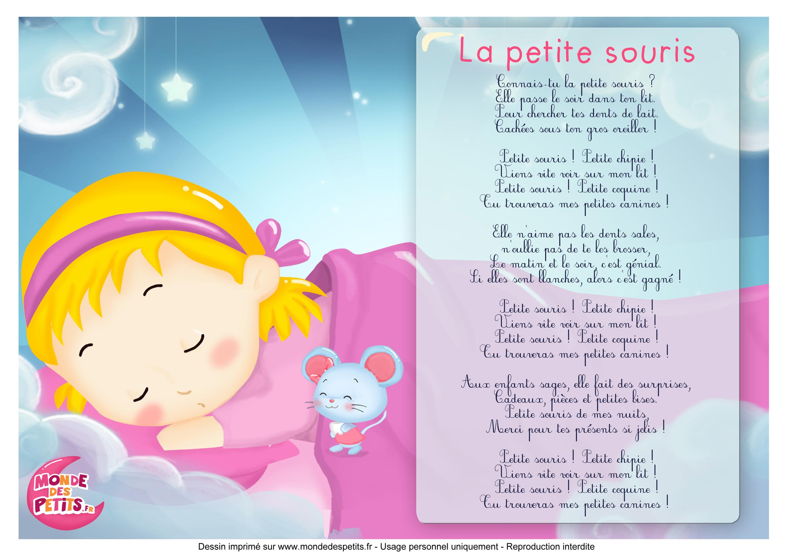 Monde Des Petits La Petite Souris