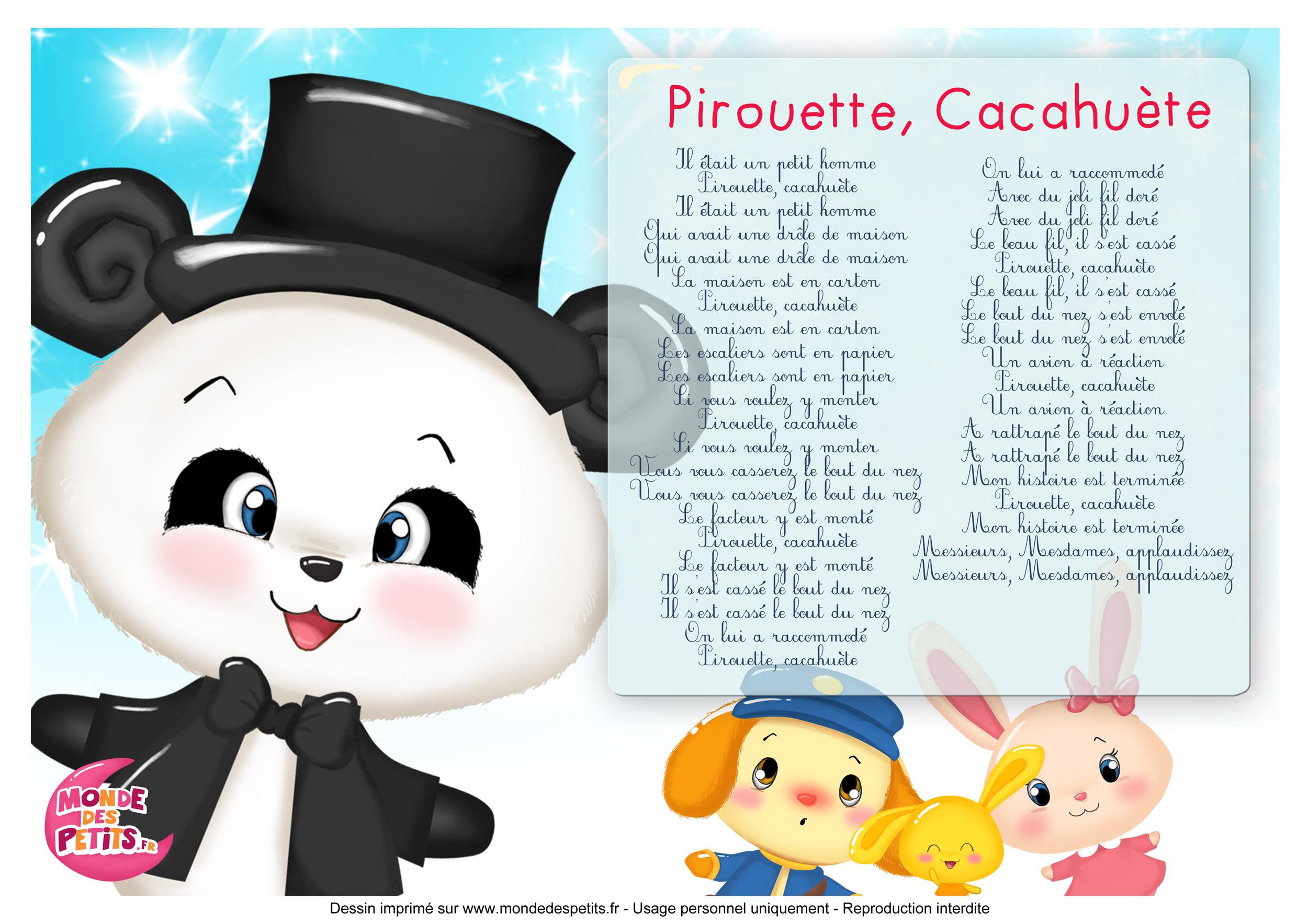 Pirouette, Cacahuète 1