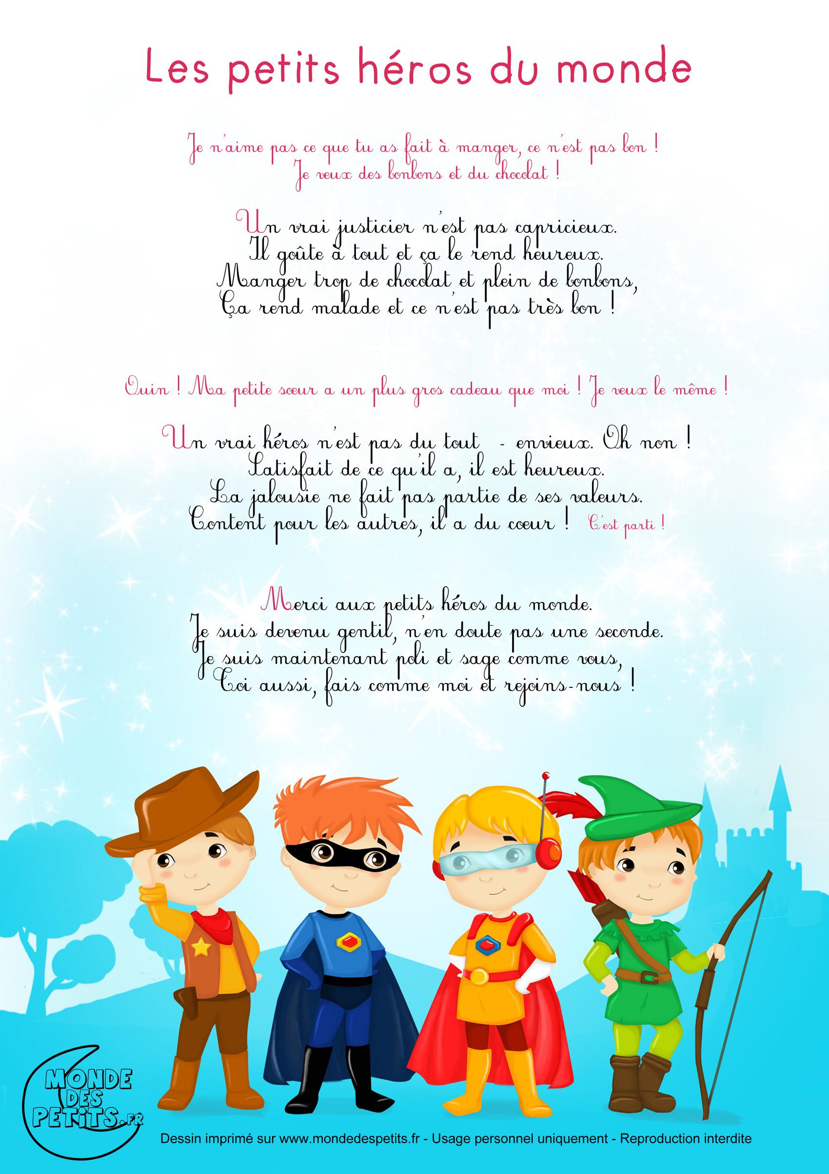 Monde des petits - Les petits héros du monde