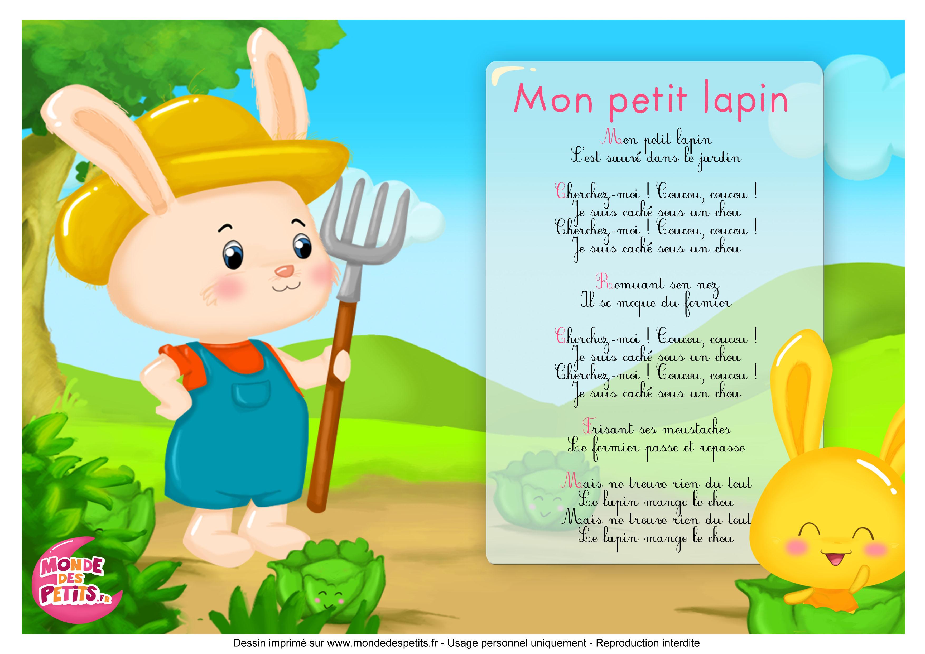 Monde Des Petits Mon Petit Lapin Les Titounis