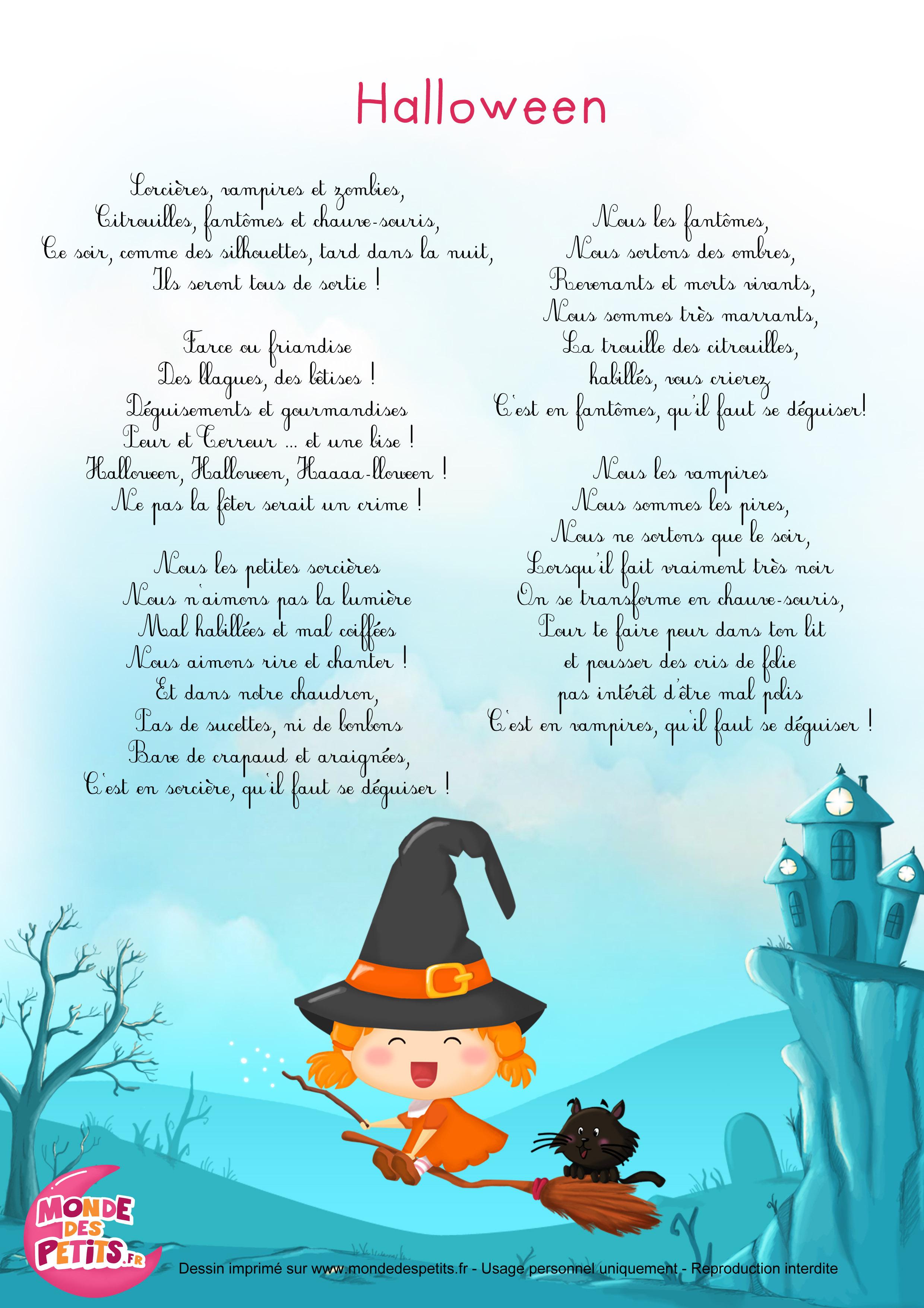 halloween, chanson, comptine, enfant, sorcière, vampires, fantômes, bébé,
