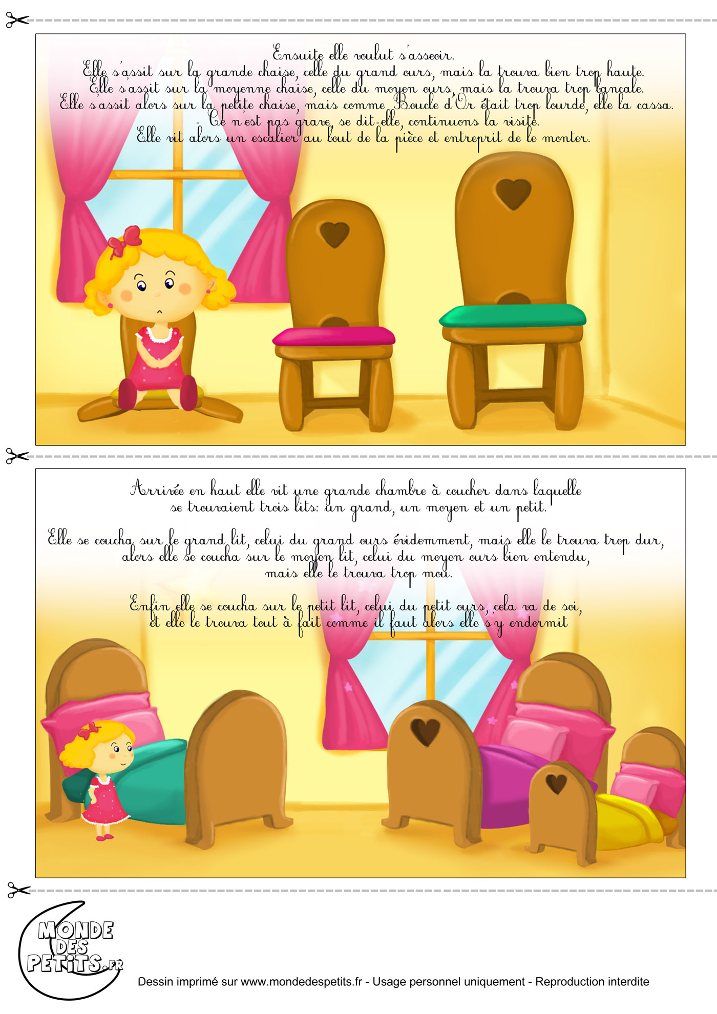 Monde Des Petits Imprimer
