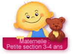 Ecole maternelle petite section