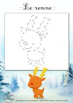 Monde des petits tutoriel vid o - Dessiner un renne ...